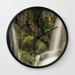 Up Cottonwood Creek Wall Clock