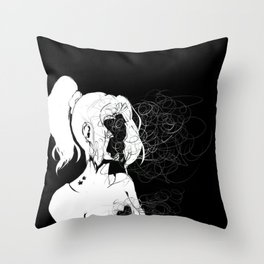 Inner Conflict Throw Pillow