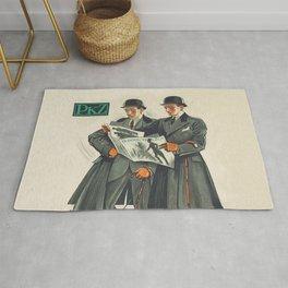 PKZ Men's Vintage Fashion Poster Rug