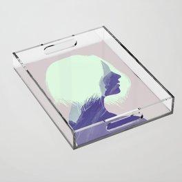 Inner peace Acrylic Tray