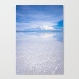 Salar de Uyuni desert, Bolivia Canvas Print