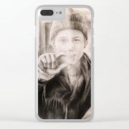 Alt er love Clear iPhone Case
