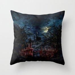 Castlevania: Vampire Variations- Gates Throw Pillow