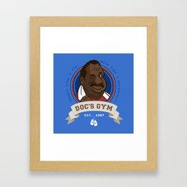 Doc's Gym Framed Art Print