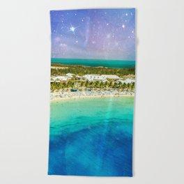 Cosmic Tropics Beach Towel