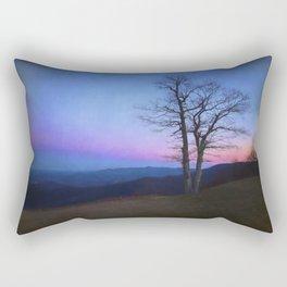 Parkway Overlook at Sunset Rectangular Pillow