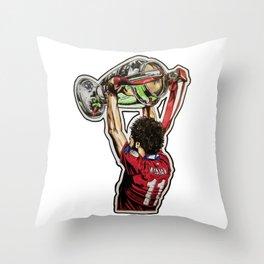 Mo - European Champion Throw Pillow