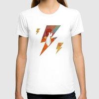 david bowie T-shirts featuring Bowie by David van der Veen