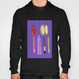 beauty products violet . art Hoody