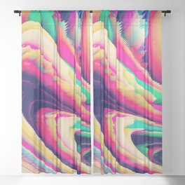 Alchemy 001 Sheer Curtain