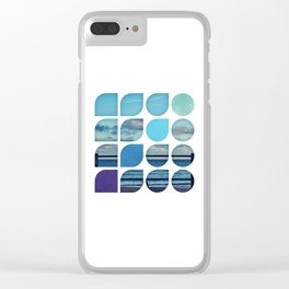 Cold Comfort Collage — Requiem Clear iPhone Case
