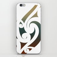 maori iPhone & iPod Skins featuring Maori Style by Lonica Photography & Poly Designs