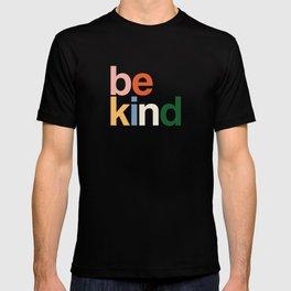 be kind colors rainbow T-shirt