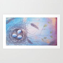 """Spring At Last"" Art Print"