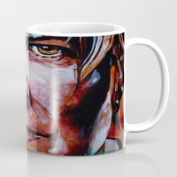 bowie Mugs featuring Bowie by Ray Stephenson