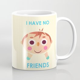 I intend to make friends! Coffee Mug