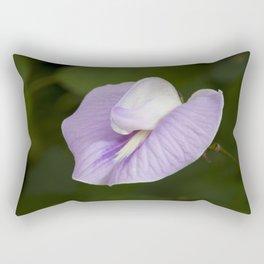 Butterfly Pea Flower Rectangular Pillow