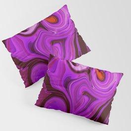 Purple Haze #Abstract #DigitalArt #1970s Pillow Sham