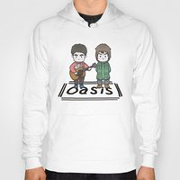 oasis Hoodies featuring Oasis by zyxth