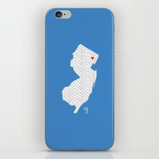 New Jersey Love iPhone & iPod Skin