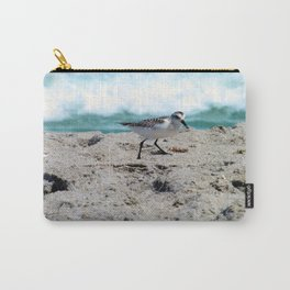 Little Bird on the Seashore Carry-All Pouch