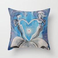 wedding Throw Pillows featuring Wedding by sladja