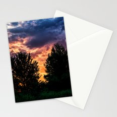Dry Day Sunset Stationery Cards