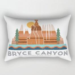 Bryce Canyon National Park Utah Graphic Rectangular Pillow