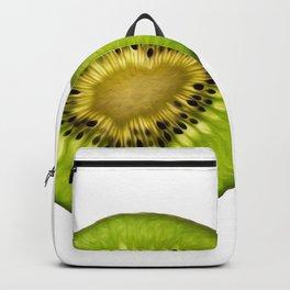 Half Kiwi Like green sun - Life is beautiful Backpack