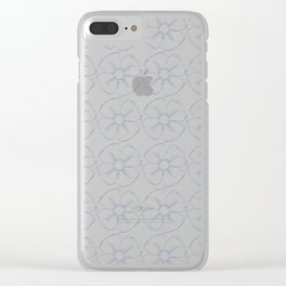 Daisy Trip Clear iPhone Case
