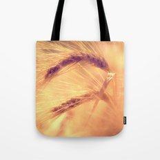 Summer romance in the grain field Tote Bag