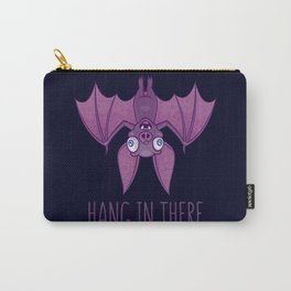 Hang In There Wacky Vampire Bat Carry-All Pouch