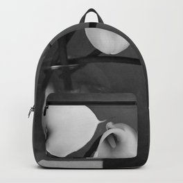 four lily in fish bowl Backpack