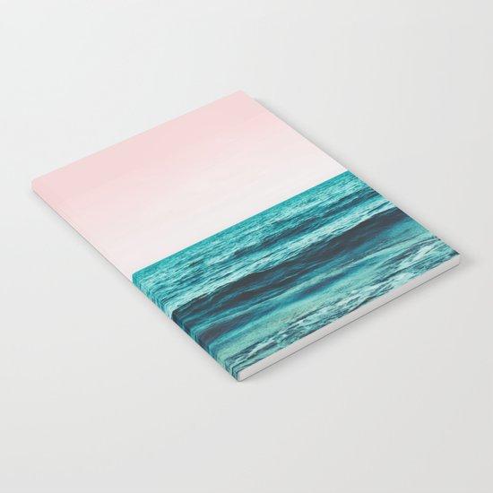 Ocean Love #society6 #oceanprints #buyart Notebook