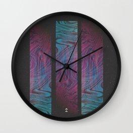 BLACK HOLES Wall Clock