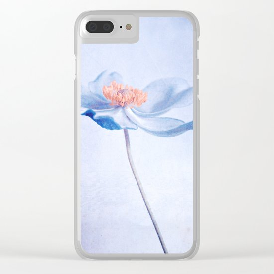 belle Clear iPhone Case