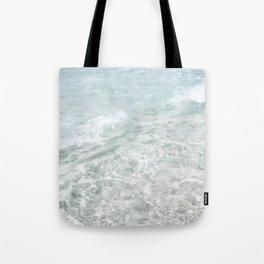 Translucent Waves Tote Bag