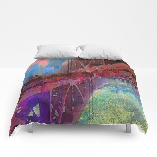 Double bridge Comforters