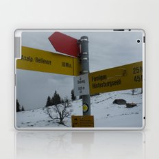 Swiss Adventure Laptop & iPad Skin