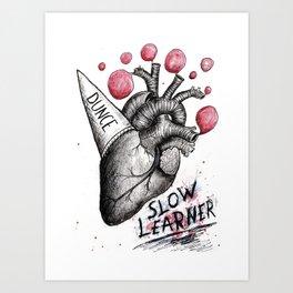 Follow Your Dunce Art Print