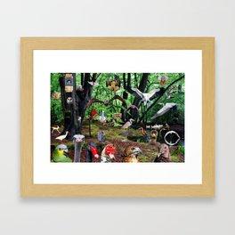 Avian Park Framed Art Print