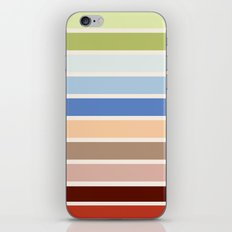 The colors of - Porco Rosso iPhone & iPod Skin