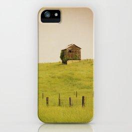 Summer Pastures iPhone Case