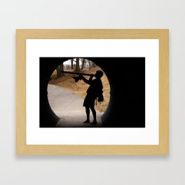 djembe Framed Art Print