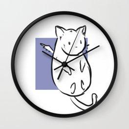 Mr. Chub Chub  Wall Clock