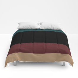 Contemporary Color Block XII Comforters