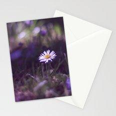 midnight daisy  Stationery Cards