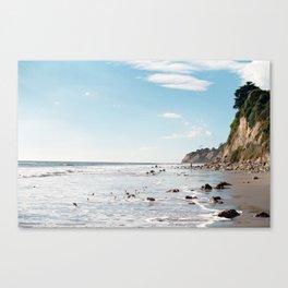 1000 Steps Beach Canvas Print
