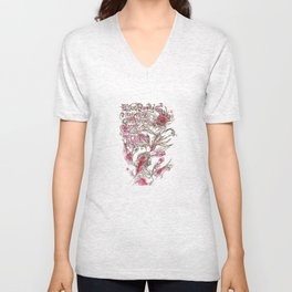 Egon Bondy's Happy Hearts Club Banned Unisex V-Neck