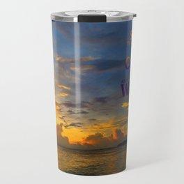 Serenity Prayer Sunset By Sharon Cummings Travel Mug